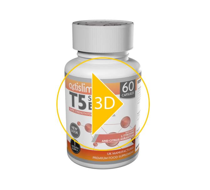 Actislim T5 BURN | 100% Genuine Ingredients | UK Sourced