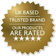 UK based, trusted brand, our products are rated 5 star!